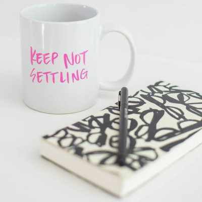 5 Ways to Keep Not Settling | Peaceful Dumpling
